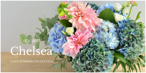 Chelsea by Scotts Flowers NYC Summer Collection 2017
