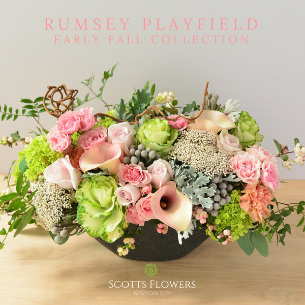 Rumsey Playfield original design by Scotts Flowers NYC