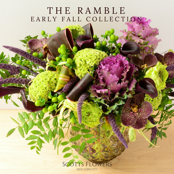 The Ramble original design by Scotts Flowers NYC