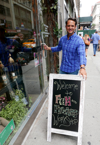 flower classes Scotts Flowers NYC