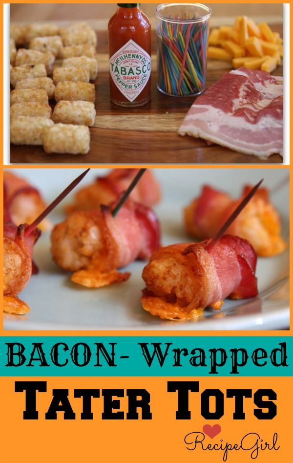 Bacon Wrapped Tater Tot Recipe