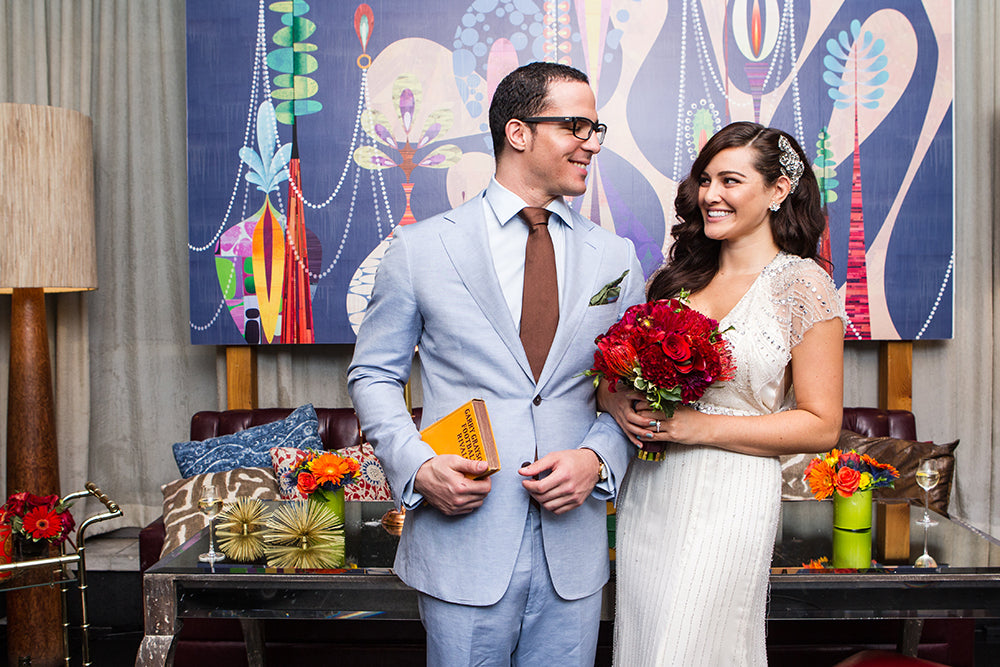 Scotts Flowers NYC New York City Styled Shoot Best Wedding Flowers