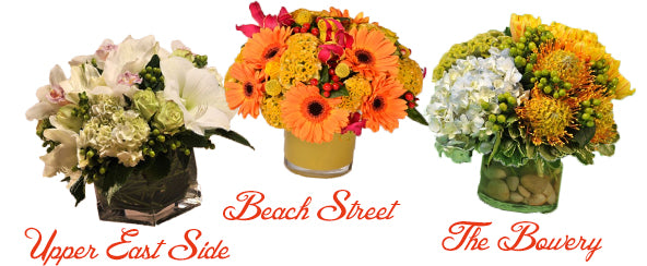 Picnic Flower ideas from Scotts Flowers NYC
