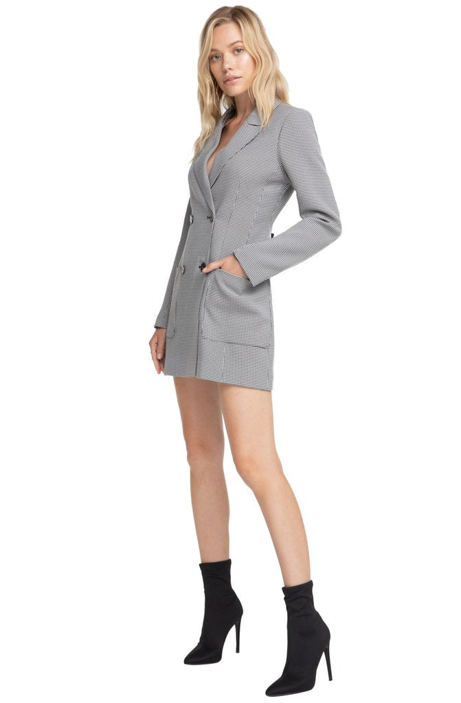 Blazer Dress - Hello Addie