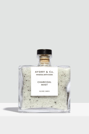 Charcoal Mint Mineral Bath Soak - Hello Addie