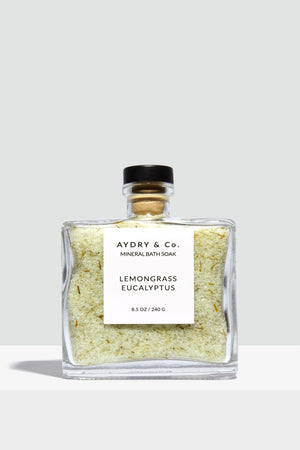 Lemongrass Eucalyptus Mineral Bath Soak - Hello Addie