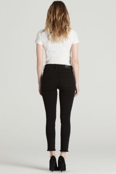 Twisted Seam Skinny Jeans - Hello Addie