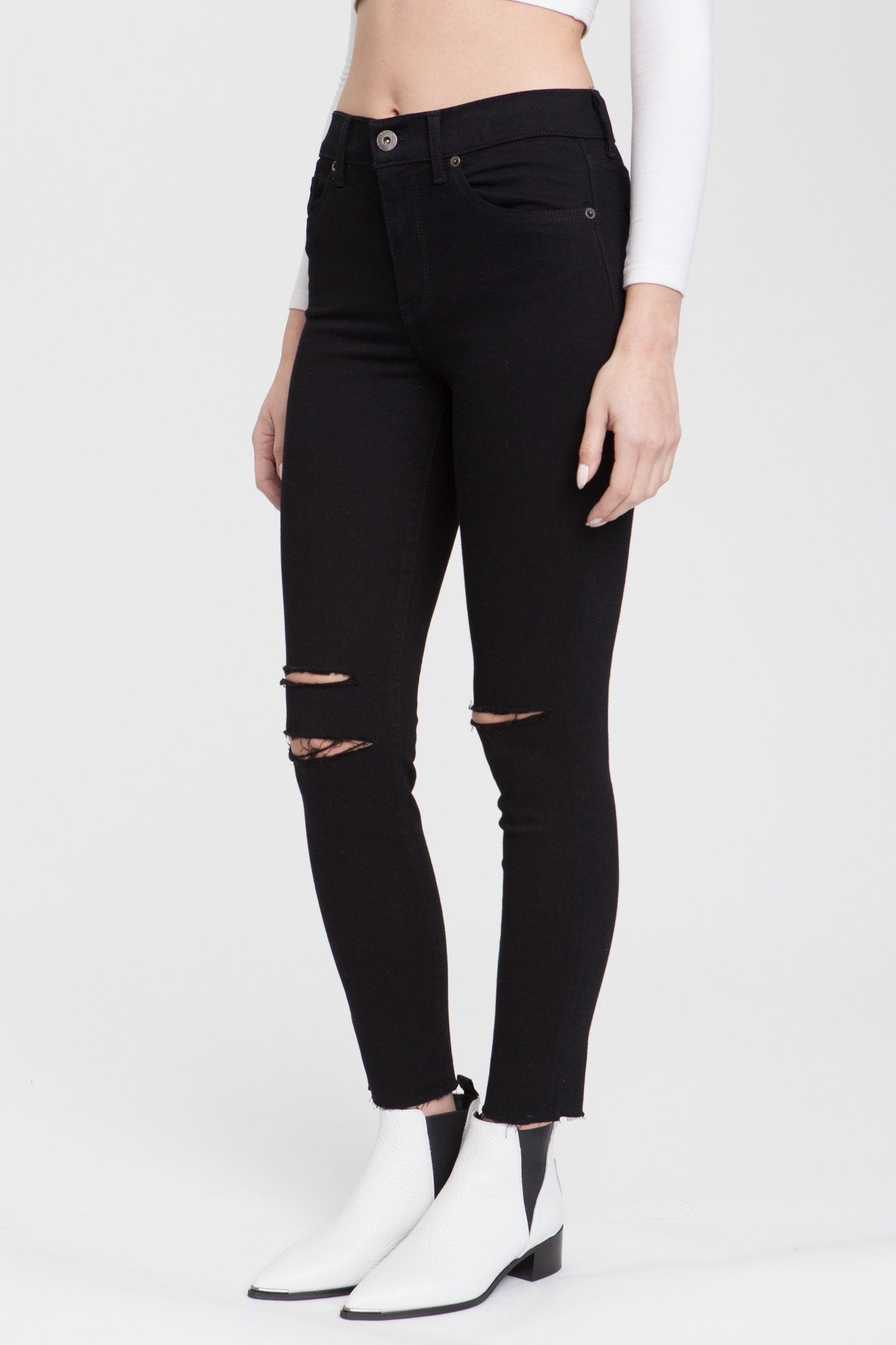 Aline High Rise Skinny - Hello Addie