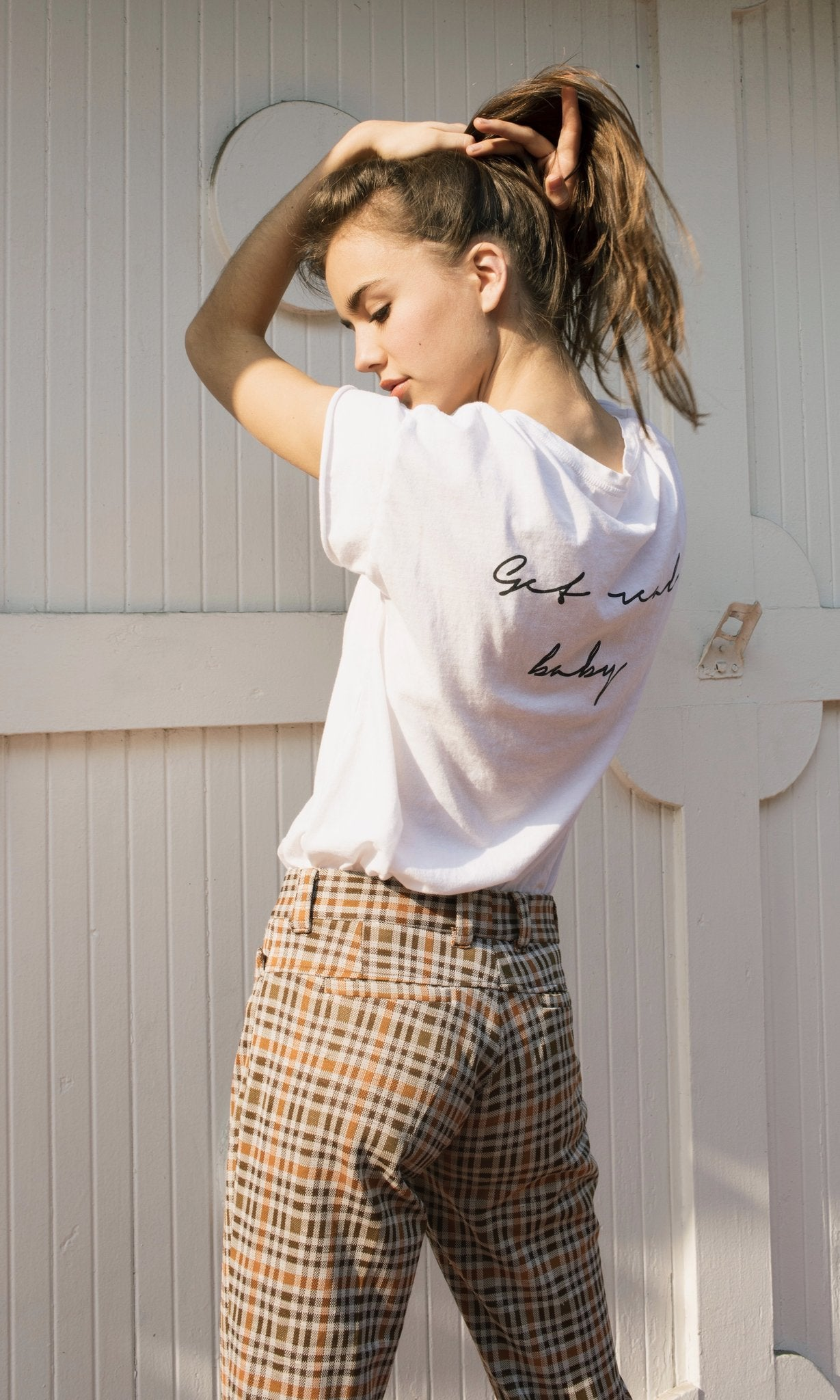 Get Real, Baby Graphic Tee - Hello Addie