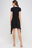 D3062-A1, Asymmetrical Fashion Dress