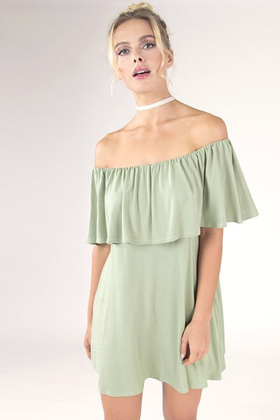 Cold Shoulder Dress - Blooms in the City