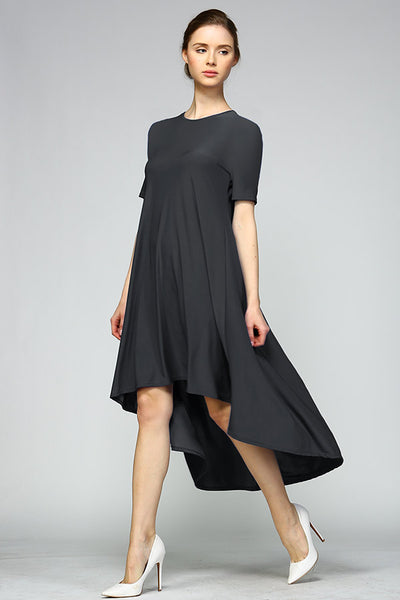 Hi Low Tee Dress - Blooms in the City