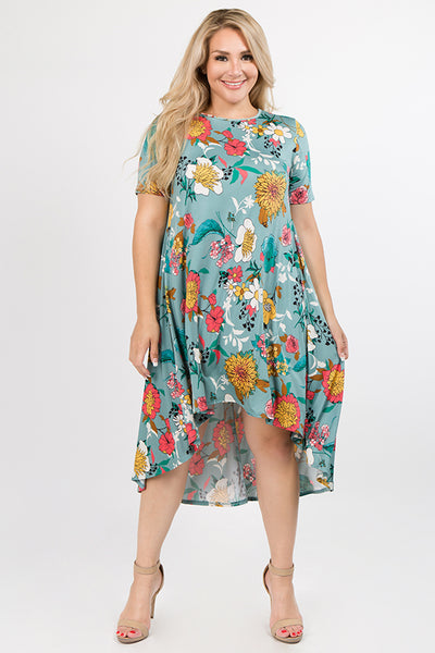 Style #D3056PLUS-P91 - Blooms in the City