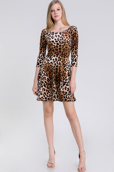 Style # D3141 CHEETAH - Blooms in the City