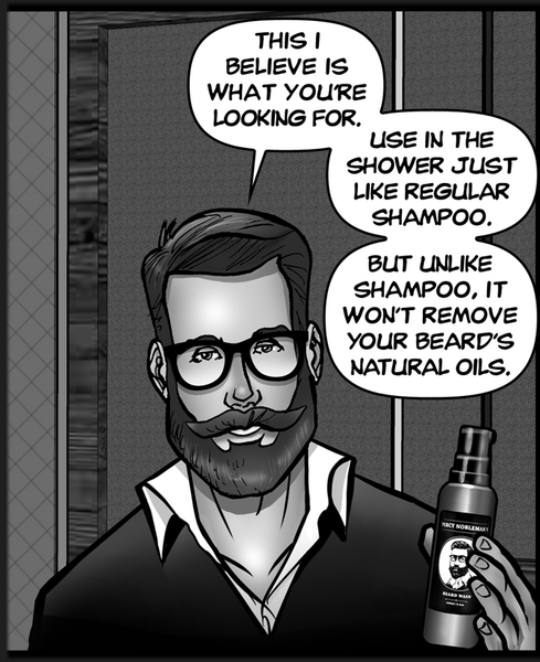 Beard Wash vs. Generic Shampoo: The Importance of Beard Discipline