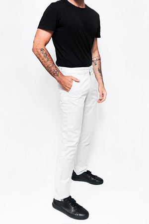 Washed Chino Regular Ibiza Stone - smitzy