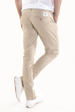 Washed Chino Slim Sahara - smitzy