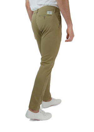 Washed Chino Slim Serengeti - smitzy