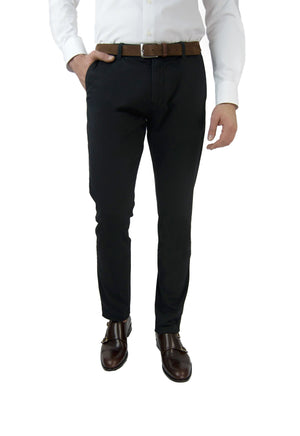 Washed Chino Slim Midnight - smitzy