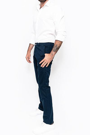 Washed Chino Regular Atlantic - smitzy