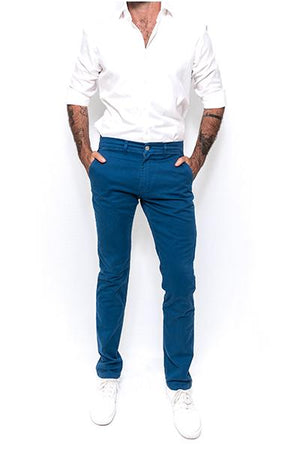 Washed Chino Regular Pacific - smitzy