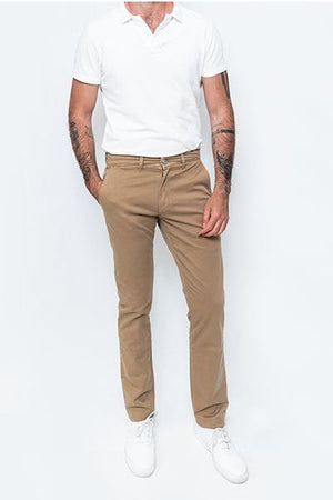 Washed Chino Regular Serengeti - smitzy