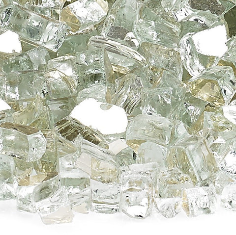"American Fire Glass - 1/2"" Starfire Reflective 10 lbs - AFF-STFRRF12-10 - Fire Glass - Firetable Store"