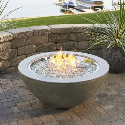 "Outdoor GreatRoom - Cove 30"" Fire Bowl - CV-30 - Gas Fire Pit / Fire Table - Firetable Store"