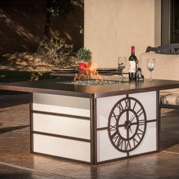 CC Products Fire Time Fire Pit Table  - C1040 - Gas Fire Pit / Fire Table - Firetable Store