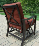 Agio Haywood Patio Chairs - Set of 2 - Gas Fire Pit / Fire Table - Firetable Store