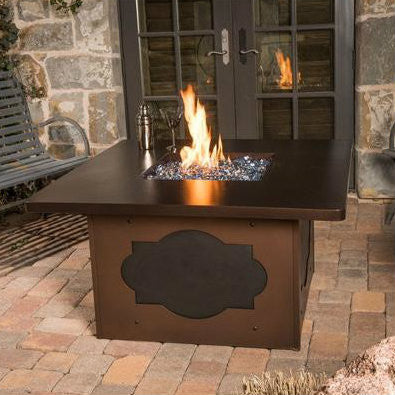 CC Products Maitre' D Fire Pit Table - C1035 - Gas Fire Pit / Fire Table - Firetable Store