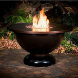 CC Products Modish Bowl Fire Pit Table - C1042 - Gas Fire Pit / Fire Table - Firetable Store