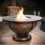 CC Products Onyx Bowl Fire Pit Table - C1045 - Gas Fire Pit / Fire Table - Firetable Store
