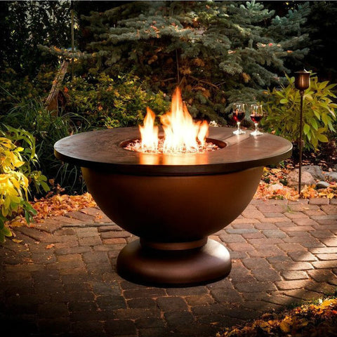 CC Products Penny Bowl Fire Pit Table - C1041 - Gas Fire Pit / Fire Table - Firetable Store