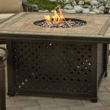 "Agio Syracuse Fire Pit Table - 44"" x 44"" - Gas Fire Pit / Fire Table - Firetable Store"
