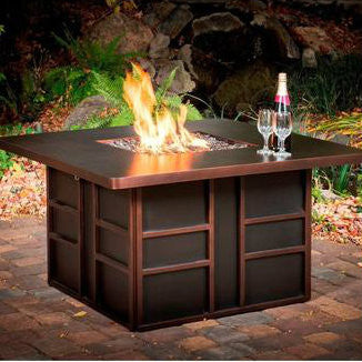CC Products Stalwart Night Fire Pit Table  - C1039 - Gas Fire Pit / Fire Table - Firetable Store