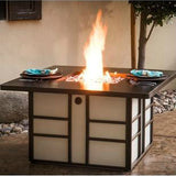 CC Products Stalwart Fire Pit Table  - C1038 - Gas Fire Pit / Fire Table - Firetable Store