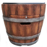 Tretco Wine Barrel Chat Pit- FP-C-WB-1 - Gas Fire Pit / Fire Table - Firetable Store