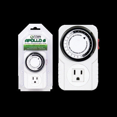 Titan Controls Apollo 6 - 24 Hour Timer w/ 15 Minute Intervals