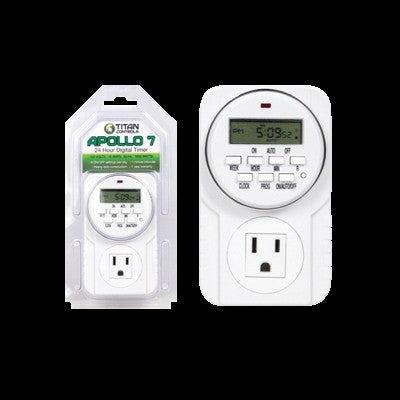 Titan Controls Apollo 7 - 24 Hour Digital Timer