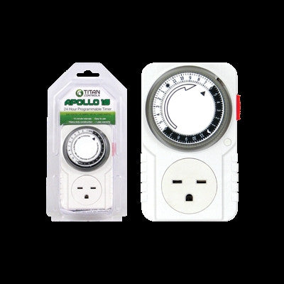 Titan Controls Apollo 10 - 240 Volt 24 Hour Timer