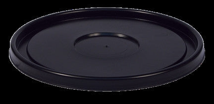 Black Plastic Bucket Lid