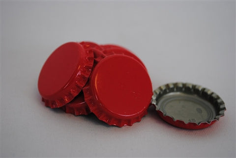 Crown Caps - Red - 144 Count