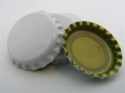 Crown Caps - White - 144 Count