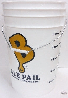 "6.5 Gallon ""Ale Pail"" UnDrilled Bottling Bucket"