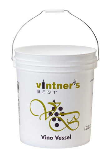 7.9 Gallon Fermenting Bucket UnDrilled