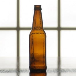 12 oz Amber Beer Bottle