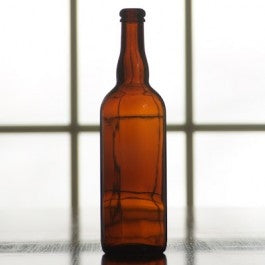 Belgian Beer Bottle Amber 750 ml - Cork finish