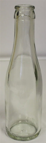 187ml Clear Champagne Bottle - Cork or Crown Finish