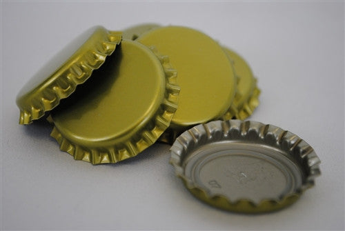 Crown Caps - Gold - 144 Count